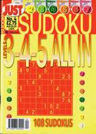 Just Sudoku All In 3 4 5 Magazine Issue NO 4