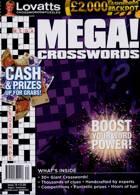 Lovatts Mega Crosswords Magazine Issue NO 74