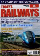 Todays Railways Uk Magazine Issue AUG 21