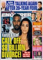 National Enquirer Magazine Issue 30/08/2021