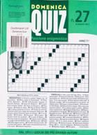 Domenica Quiz Magazine Issue NO 27