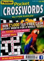 Puzzler Pocket Crosswords Magazine Issue NO 453