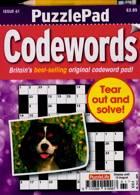 Puzzlelife Ppad Codewords Magazine Issue NO 61