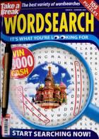 Take A Break Wordsearch Magazine Issue SUMMER