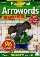Puzzlelife Arroword Super Magazine Issue NO 41