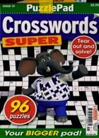 Puzzlelife Crossword Super Magazine Issue NO 41