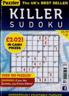 Puzzler Killer Sudoku Magazine Issue NO 186