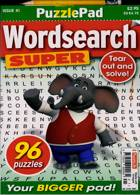Puzzlelife Wordsearch Super Magazine Issue NO 41