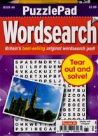 Puzzlelife Ppad Wordsearch Magazine Issue NO 65