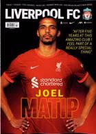 Liverpool Fc Magazine Issue OCT 21