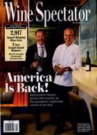 Wine Spectator Magazine Issue AUG 31