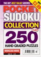 Pocket Sudoku Collection Magazine Issue NO 147