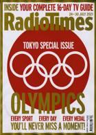 Radio Times London Edition Magazine Issue 24/07/2021