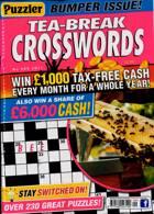 Puzzler Tea Break Crosswords Magazine Issue NO 309
