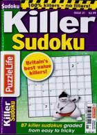Puzzlelife Killer Sudoku Magazine Issue NO 21