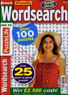 Family Wordsearch Magazine Issue NO 370