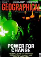 Geographical Magazine Issue OCT 21
