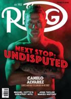 The Ring Magazine Issue AUG 21