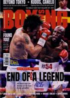 Boxing News Magazine Issue 26/08/2021