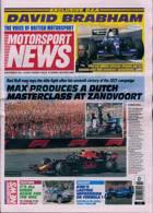 Motorsport News Magazine Issue 09/09/2021