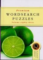 Premium Wordsearch Puzzles Magazine Issue NO 83