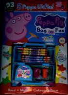 Peppa Pig Bag 0 Fun Magazine Issue NO 143