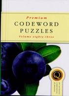 Premium Codeword Puzzles Magazine Issue NO 83