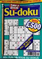 Take A Break Sudoku Magazine Issue NO 9