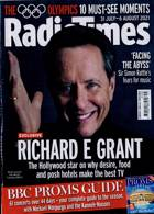 Radio Times London Edition Magazine Issue 31/07/2021