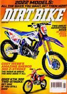 Dirt Bike Mthly Magazine Issue AUG 21