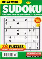 Relax With Sudoku Magazine Issue NO 19