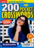 200 Pocket Crosswords Magazine Issue NO 70