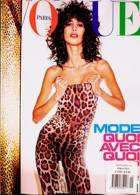 Vogue French Magazine Issue NO 1019