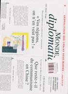 Le Monde Diplomatique Magazine Issue NO 808