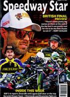 Speedway Star Magazine Issue 14/08/2021