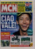 Motorcycle News Magazine Issue 11/08/2021