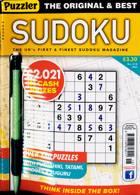 Puzzler Sudoku Magazine Issue NO 218