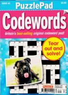 Puzzlelife Ppad Codewords Magazine Issue NO 62