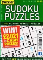 Puzzler Sudoku Puzzles Magazine Issue NO 212