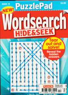 Puzzlelife Ppad Wordsearch H&S Magazine Issue NO 13