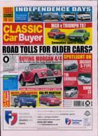 Classic Car Buyer Magazine Issue 15/09/2021
