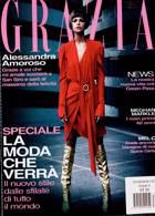 Grazia Italian Wkly Magazine Issue NO 33-34