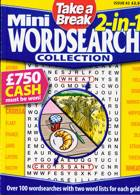 Tab Mini 2 In 1 Wordsearch Magazine Issue NO 42