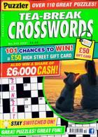 Puzzler Tea Break Crosswords Magazine Issue NO 310