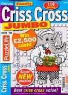 Family Criss Cross Jumbo Magazine Issue NO 102