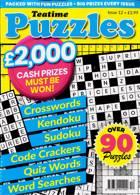 Teatime Puzzles Magazine Issue NO 12