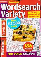 Family Wordsearch Variety Magazine Issue NO 74