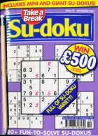 Take A Break Sudoku Magazine Issue NO 10