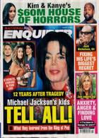 National Enquirer Magazine Issue 11/10/2021