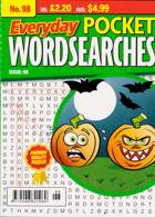 Everyday Pocket Wordsearch Magazine Issue NO 98